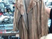 FLETCHER & BENSKY Clothing MINK AND LEATHER COAT